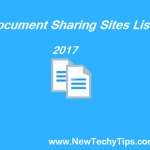 Document Sharing Sites List 2018