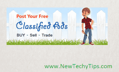 Free Classified Sites List For Online Marketing - NewTechyTips