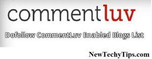 commentluv blogs